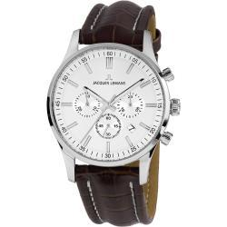 1-2025B.1 Herren-Armbanduhr Chronograph London Lederband