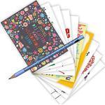 10-er Set Postarten A6 • MIX-0908 ''Postkarten-Set mit Bleistift • Sprüche-Geburtstag'' von Inkognito • Künstler: INKOGNITO
