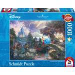 1000 Teile Schmidt Spiele Puzzle Thomas Kinkade Disney Cinderella 59472