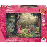 1000 Teile Schmidt Spiele Puzzle Thomas Kinkade Disney Dornröschen 59474