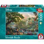 1000 Teile Schmidt Spiele Puzzle Thomas Kinkade Disney Dschungelbuch 59473