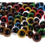 100Pcs Sicherheitsaugen Teddyaugen für Teddy Puppe DIY Diverse Größen Farben