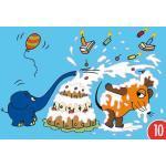 10er-Pack: Postkarte A6 +++ Sendung Mit Der Maus Von Modern Times +++ Tortenschlacht +++ Artconcept © Schmitt-Menzel/streich