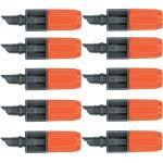 10x Gardena MDS-Endtropfer Regulierbar 1391 Micro-Drip-System
