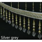 11.5M Perlen Vorhang Quasten Fransen Verzierungen Polster Band Nähen Angebot