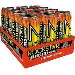 12 Dosen Rockstar Energy Drink Juiced Mango Orange a 0,5L inc. 3.00€ EINWEG Pfand DPG
