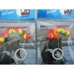 12 Pilotkugeln Miniposen Forellen Sbirolino Bissanzeiger Fliegenfischen Rund