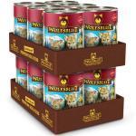 12 x 395 g | Wolfsblut | Blue Mountain - Wild mit Süßkartoffeln Puppy | Nassfutter | Hund