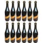 12 X Fragolino Rosso Corte Viola 0,75 L - Erdbeer-Perlwein - 10 % Vol. - Sparpack