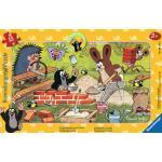 15 Teile Ravensburger Kinder Rahmen Puzzle Der Maulwurf Der kleine Maulwurf und seine Freunde 06151