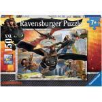 150 Teile Ravensburger Kinder Puzzle XXL Dragons Drachenzähmen leicht gemacht 10015