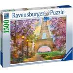 1500 Teile Ravensburger Puzzle Verliebt in Paris 16000