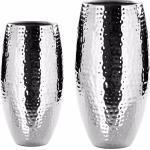 157019 fink Vase Africa   Ø 14cm / gehämmert