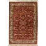 160X230 Orientalischer Teppich Kerman Diba Dunkelbraun/Braun