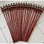 Mahagonifarbene Timtina Ölfackeln aus Bambus