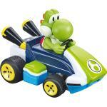 2,4GHz Mario Kart Mini RC, Yoshi grün/blau