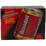 2 Fässer a 5,0 Liter Reissdorf Kölsch Partyfass Dose Bier 4,8%