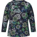 Blaue Langärmelige Rabe 2 in 1 Shirts für Damen Größe M