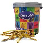 2 x 10 Rinderkopfhautstangen 50 cm Hundefutter Kaustange Lyra Pet® + 30 L Tonne