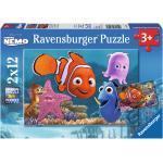 2 x 12 Teile Ravensburger Kinder Puzzle Disney Pixar Findet Nemo, der kleine Ausreißer 07556