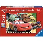 2 x 24 Teile Ravensburger Kinder Puzzle Disney Pixar Cars Neue Abenteuer 08959