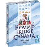 2 x 55 Blatt Ravensburger FX Schmid Spielkarten Rommé, Bridge, Canasta Kartonschachtel 26957