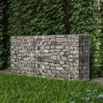 200 cm x 100 cm Gartenzaun Thornfeldt