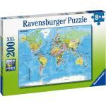 200 Teile Ravensburger Kinder Puzzle XXL Die Welt 12890