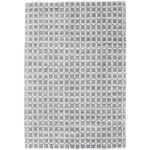 200X300 Moderner Teppich Elna Handgewebter Baumwolle Hellgrau/Weiß/Creme