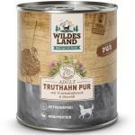 WILDES LAND Hundefutter mit Truthahn
