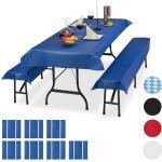 24x Bierzeltgarnitur Auflage in Blau
