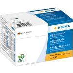 250 HERMA Adressetiketten 4341 weiß