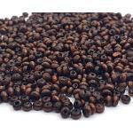 2700 STK. Holzperlen 3,5x2 mm Ring, Rondell, Dunkel Braun, Mini Spacer Holz Perlen mit Loch zum fädeln für DIY Schmuck Herstellung Armband Wooden Beads