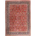 295X401 Persischer Teppich Handgeknüpfter Orientalischer Wolle Dunkelrot/Dunkelbraun Großer