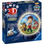 2in1 Nachtlicht & puzzleball® Ø13 cm, 72 Teile , PAW Patrol