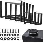 2X Tischgestell Tischuntergestell Tischkufen Tischbeine Tischfuß Hairpin Tisch