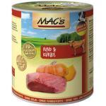 (3,12 EUR/kg) MACs Rind & Kürbis 800 g - 6 Stück