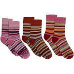 3 Paar Kinder-Ringel-Thermosocken Socken rot-kombi