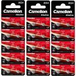 30 Stück Camelion AG4 Knopfzellen Uhrenbatterien Knopf Zellen 1.5V LR626 LR66