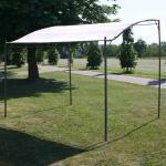 300 cm x 250 cm Pavillon aus Stahl