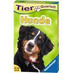 32 Blatt Ravensburger Kinder Kartenspiel Tier Quartette Hunde 20420