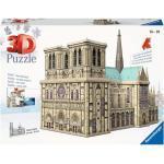 324 Teile Ravensburger 3D Puzzle Bauwerk Notre Dame 12523