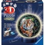 3D-Puzzle-Ball Nachtlicht - Raubkatzen, 72 Teile