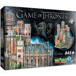 3D Puzzle - Game of Thrones - Roter Bergfried, 845 Teile, GoT, Fantasy, Wrebbit