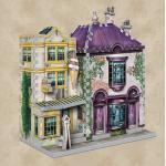 3D Puzzle Madam Malkins Anzüge & Florean Fortescues Eissalon - Harry Potter