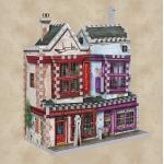 3D Puzzle Qualität für Quidditch & Slug & Jiggers Apotheke - Harry Potter
