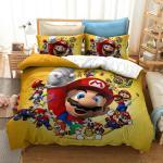 3D Super Mario Pokemon Zelda Digital Print Bedding Set Duvet Cover Pillowcase PP