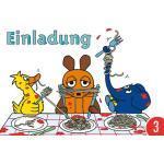3er-Pack: Postkarte A6 +++ Sendung Mit Der Maus Von Modern Times +++ Einladung +++ Artconcept © Schmitt-Menzel/streich
