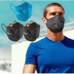 3er Pack UYN Community Mask Sportmaske Mund-Nasen-Bedeckung