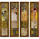 4-tlg. Leinwandbilder-Set Komposition 1 von Gustav Klimt